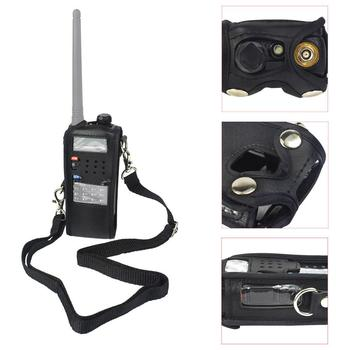 Qppxun Extended Artificial Leather Holster for Baofeng UV-5R BF-F9 TYT TH-F8