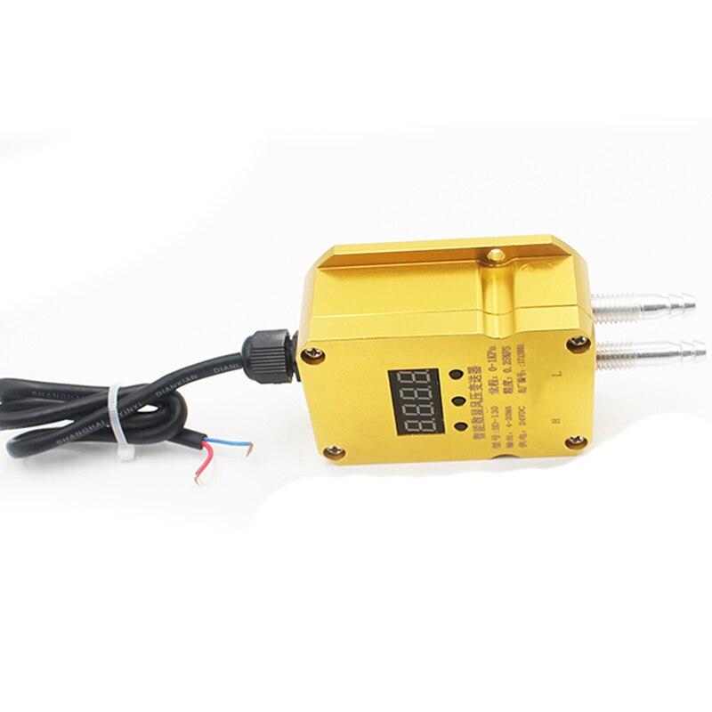 Saída 4 20ma do sensor de pressão diferencial do transmissor de pressão do vento fornalha positiva e negativa do encanamento da pressão do fã - 5