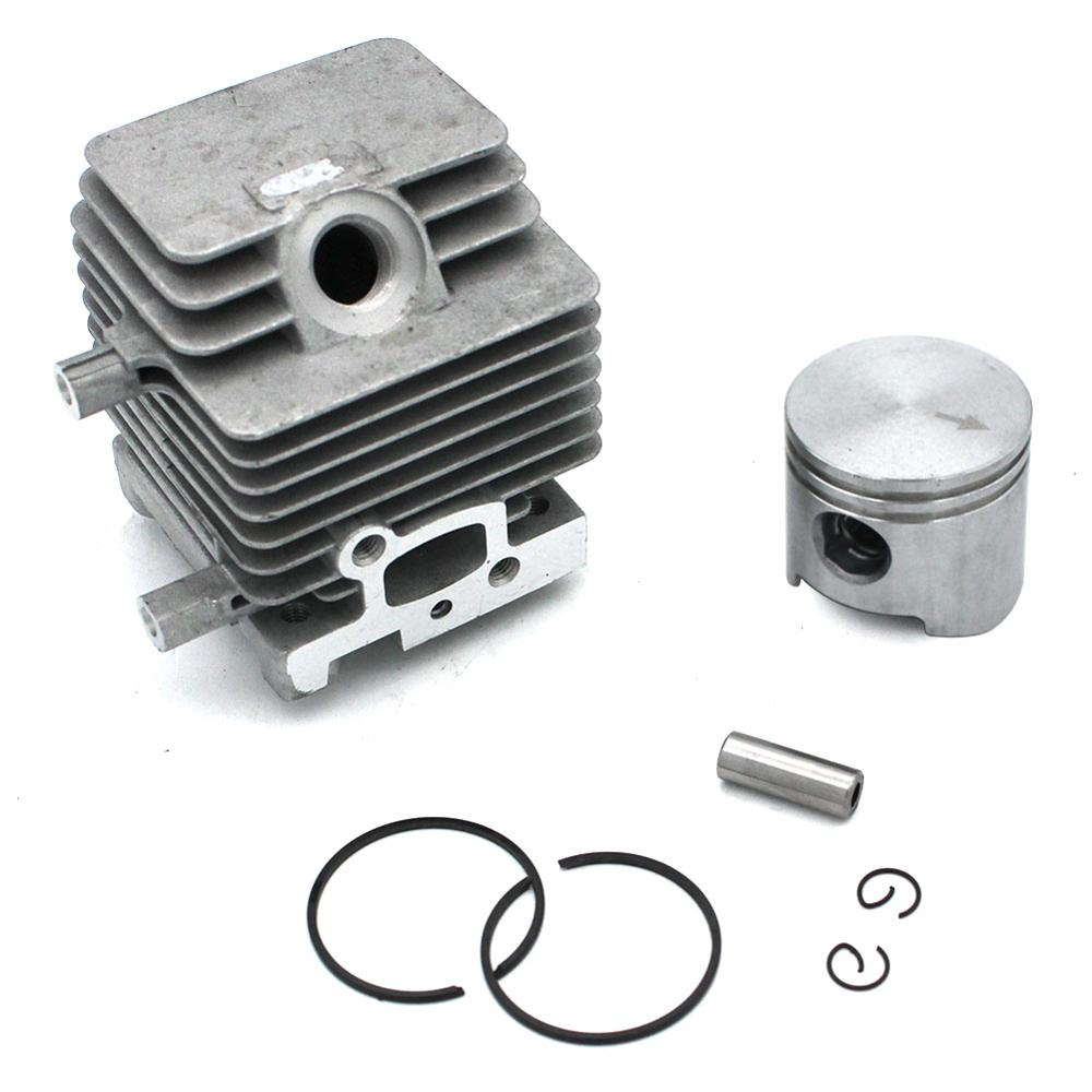Cylinder Piston KIt For Stihl FC75 FC85 FS80 FS85 HL75K HL75 HS75 HS85 HT70 HT75 KW85 KA85 KR85 SP80 SP85 FS80R FS85R  BG75