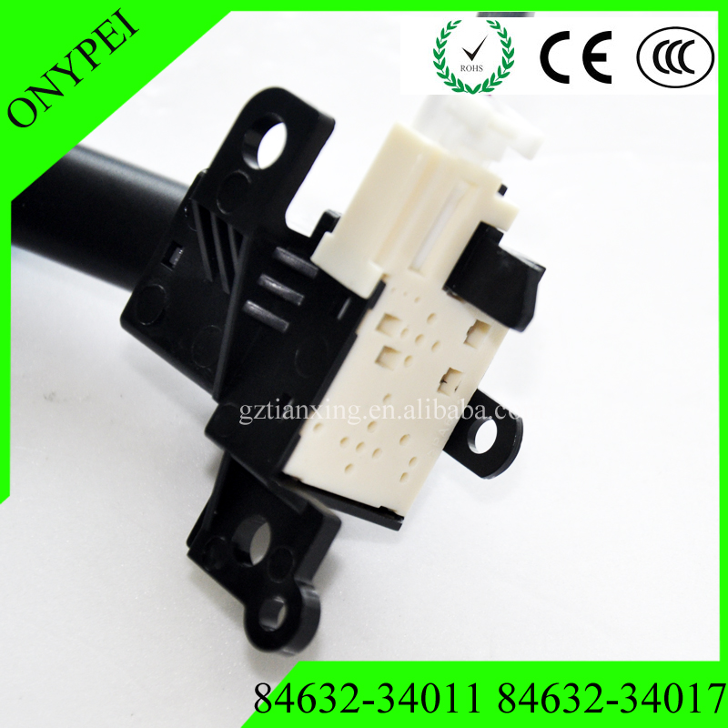 Cruise Control Switch Assembly 84632-34011 for Toyota Camry RAV4 Prius Scion Lexus Screws
