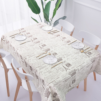Linen Cotton Tablecloth Print Color Wedding Birthday Party Table Cover Rectangle Desk Cloth Wipe Covers Home Dinner Table Cloth цена 2017