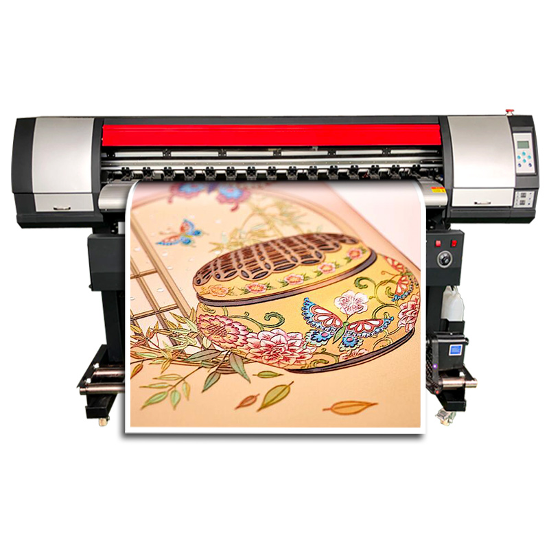 1.8m Best Vinyl Printer With Single 5113 Printhead Big Photo Printing Machine Wholesale In China For Cheap Solvent Printer