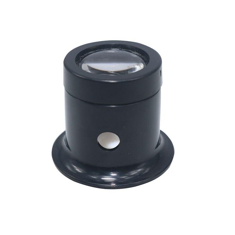 1pcs 10 Times Magnifying Glass Monocular Eye Mask Single Electronic Clock Circuit Board Maintenance Teaching Magnifying Glas