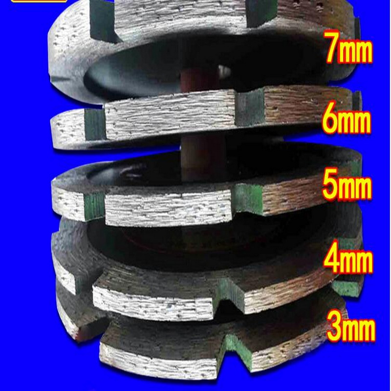 Free Shipping Of 1PC High Quality 114*20*3-7mm Scoring Saw Blade Specially For Slotting And Grinding Bottom
