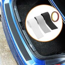 Schwarz Gummi Hinten Schutz Stoßstange Schutz Trim abdeckung Zubehör Für Ford Focus 2 3 4 Fiesta Mondeo Ecosport Ka
