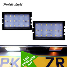 Pair LED license Number Plate Light Lamp For Land Rover Discovery Series 3/LR3 4/LR4 Freelander 2/LR2 Range Rover Sport цены онлайн
