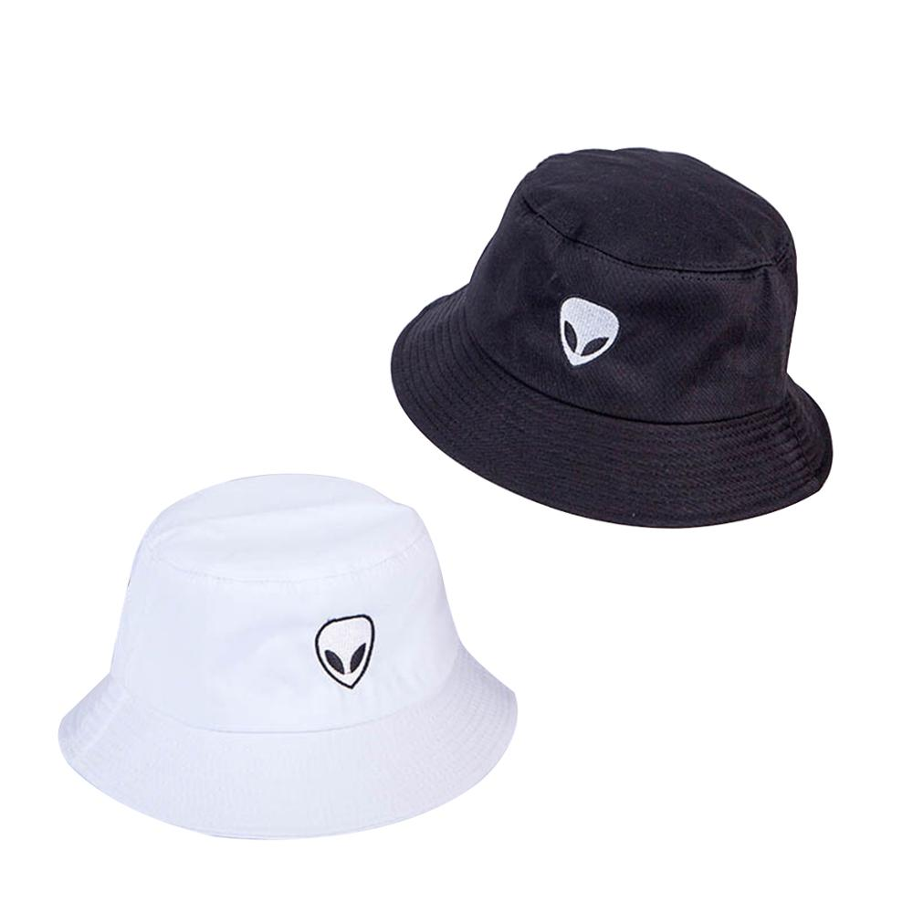 Alien Outer Space Unisex Outdoor Sun Fisherman Bucket Caps Beach Hats