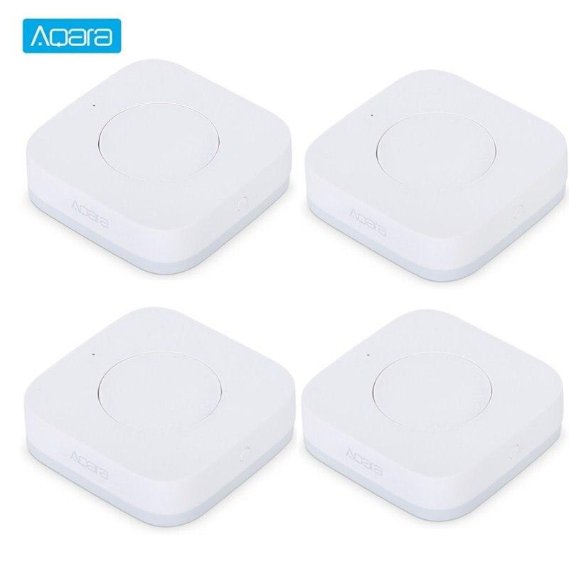 Aqara Inteligente Comutador Sem Fio Smart Switches Aplicação ZigBee Wi-fi de Conexão Para Campainha Controle Remoto Casa Inteligente