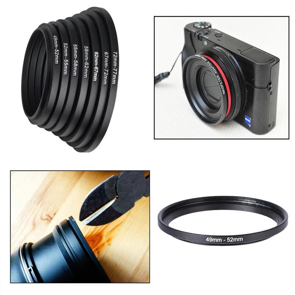 HOT SALE] Hot Sale 49 52 55 58 62 67 72 77mm Lens Step Up