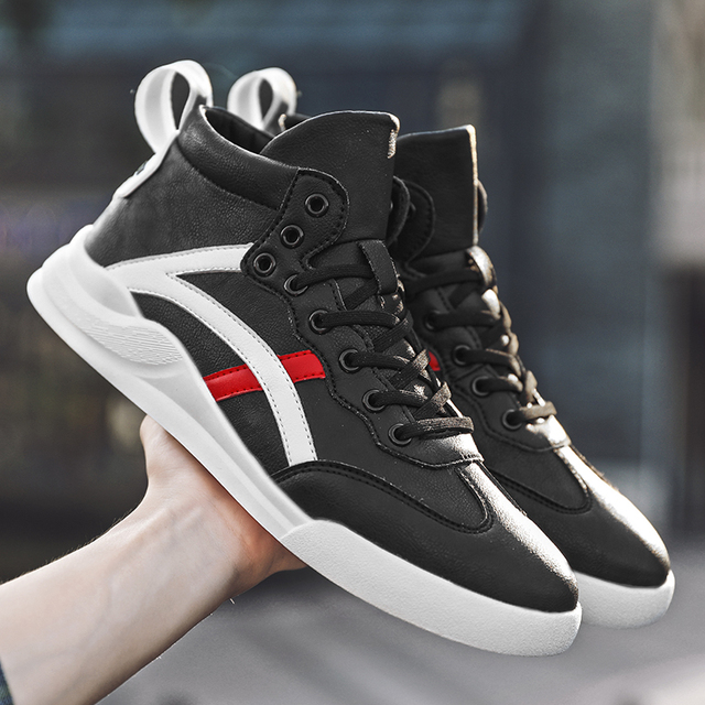 2019 New men's shoes casual shoes men's sports shoes 39-44 breathable Zhongbang white sports shoes men's tennis men