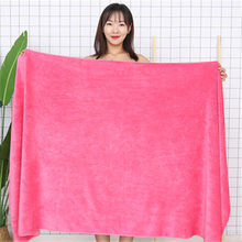 100x200cm towel luxury super absorbent and quick-drying super large bath towel-super soft hotel bath towel to wear bath towel