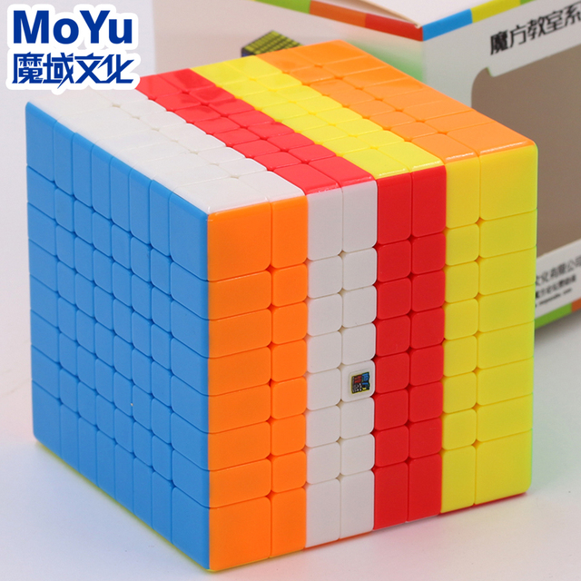 Puzzle Magic Cube Moyu cubing classroom Mofang Jiaoshi MF8 Meilong 8x8x8 professional speed cube8x8 toy educational twist game