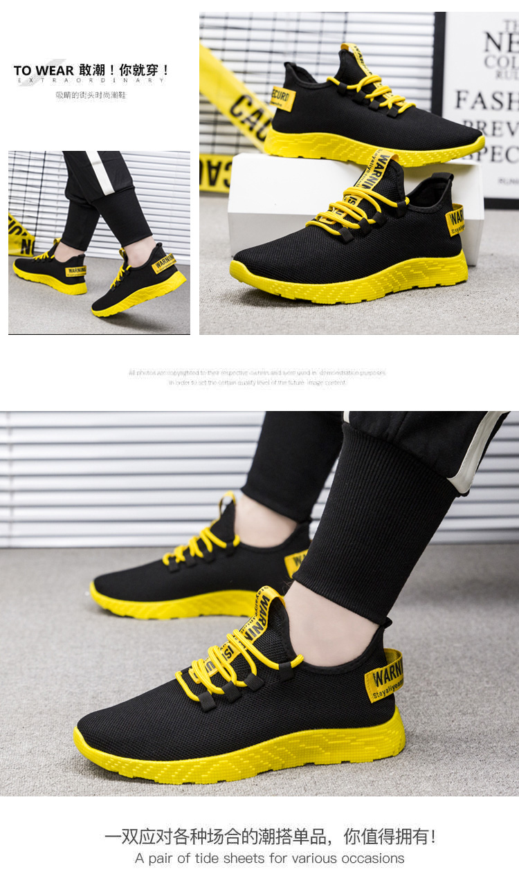 Hfb9c18c3298e4fe5a94b95bae0d8176f4 - Men Vulcanize Shoes Sneakers Breathable Men Casual Shoes No-slip new Male Air Mesh Lace Up Men Shoes Tenis Masculino Wholesale