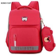 Boy Orthopedic Satchel Backpack for Girls Kids Primary School Bags Children Lightweight Large Capacity Bookbags Mochila Infantil
