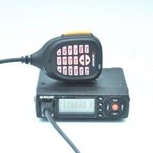 Mini cep iki yönlü telsiz BAOJIE BJ 218 UHF/VHF 136 174/400 470MHZ 25W yüksek güç ulaşım için yarış Walkie Talkie