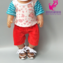 цена bebe born boy dolls clothes pants cap for 18