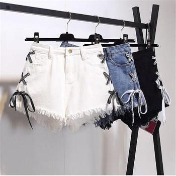 jeans shorts women denim shorts high waisted ripped short