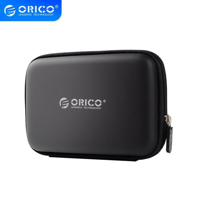 Orico Zwart PHB 25 BK Opbergtas Externe Draagbare Bescherming Tas Met Neopreen Voor 2.5 Inch Mobiele Harde Schijf Case