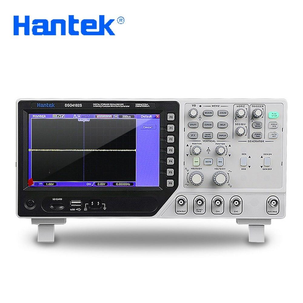 Hantek handheld digital Oscilloscope multimeter+Function Waveform Generator DSO4072S DSO4102S DSO4202S 70MHz~200MHz 2CH 1GSa+25M