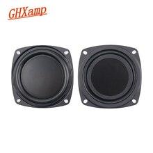 GHXAMP 3 cal 78mm głośnik chłodnicy membrany pasywne umywalka róg bas wibracji DIY 2 sztuk