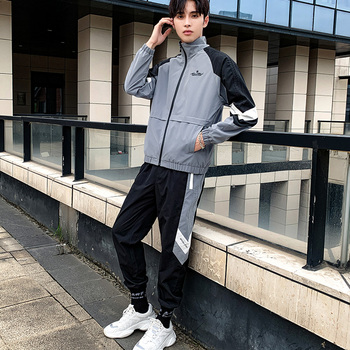 Casual Sportswear Winter Tracksuits Jacket Men Joggers Track Suit Sets Hoody Suit Men Sweatsuits Sportwear Hommes Coat JJ60NT