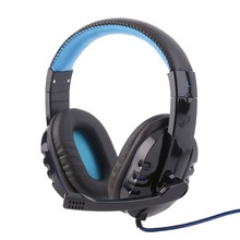 Professional Gaming Headset Surround Stereo Game Headphone Headband Earphone 3.5mm with Light Mic Micphone For Computer PC Gamer binmer futural digital g800 stereo surround gaming headset headband micheadphone high quality f25