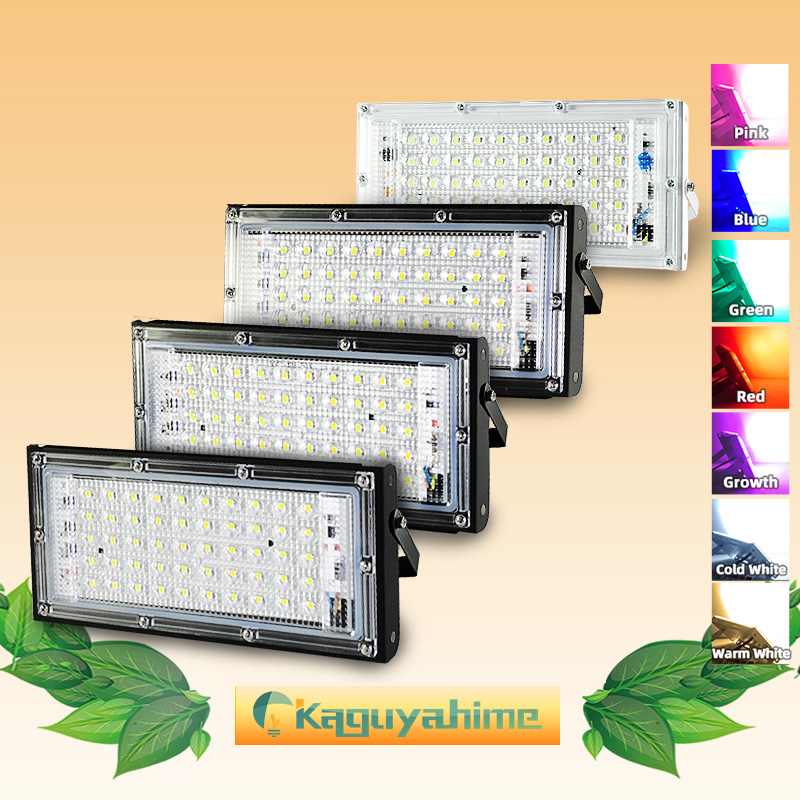 LED Floodlight 50W LED Flood Light 220V 240V Street Lamp IP65 Waterproof Garden Lamp Square Lighting Reflector LED Spotlight