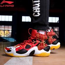 Li Ning Mannen Power Vi Premium Professionele Basketbal Schoenen Kussen Licht Schuim Voering Li Ning Cloud Sportschoenen ABAQ011 XYL306