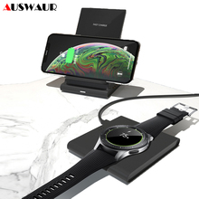 Magnetic QI Wireless Charger for iPhone XS 11 Samsung S10 Plus Watch Gear S2 S3 S4 Sport active Buds 10W Fast Wireless Charger