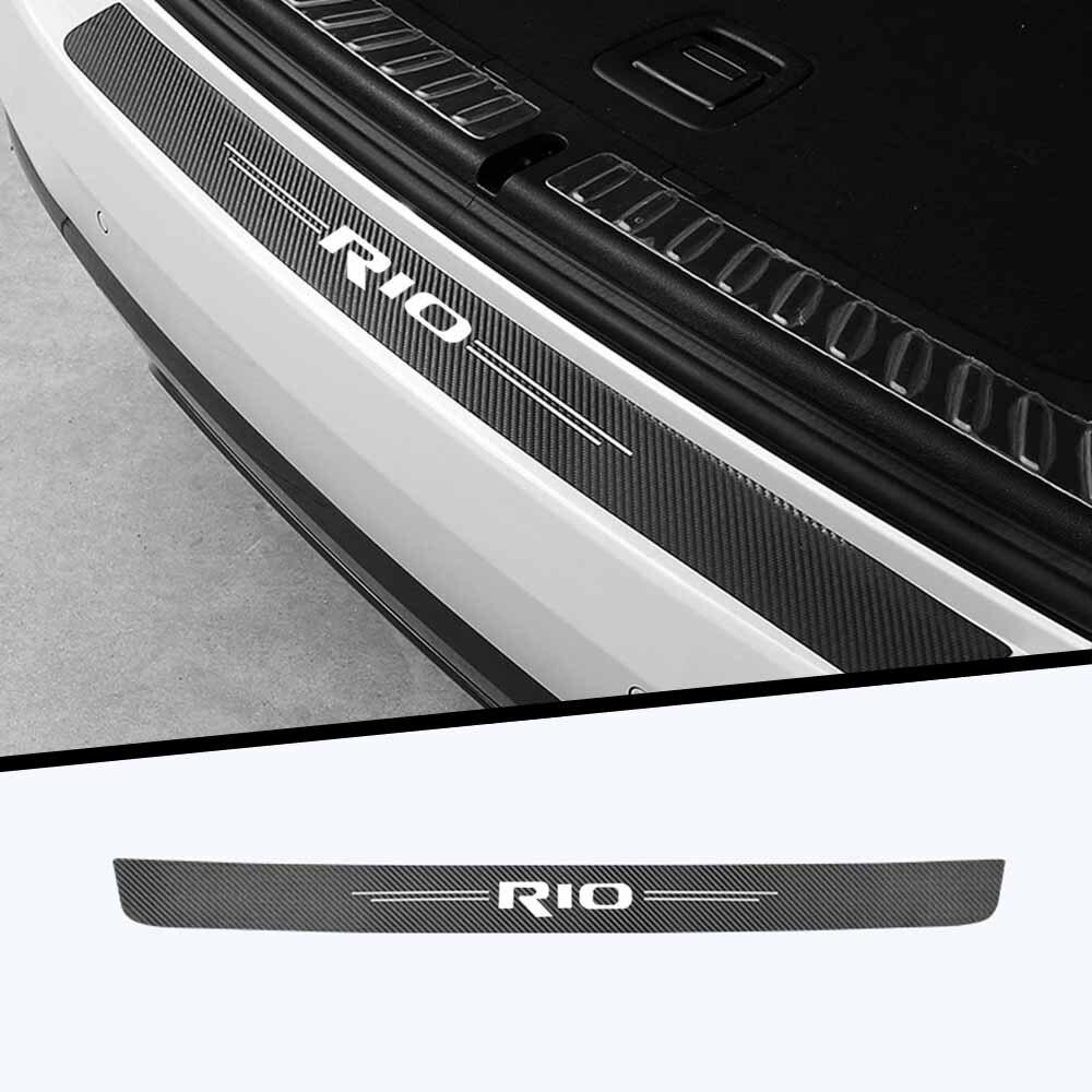 1 шт., автомобильный стикер багажник защиты украшения модификации для KIA Rio 2 3 4 X Line Тюнинг автомобилей