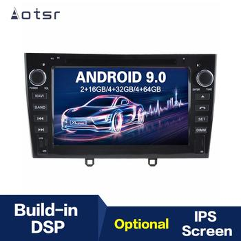 7 inch Android 9.0 IPS GPS Navigation Car Radio Player For Peugeot 308/408 Multimedia Player Head Unit Tape Recorder image