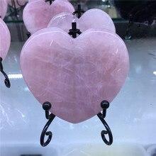 5cm Natural Beauty Rose Quartz Crystal heart Healing ball natural rose quartz crystal bead