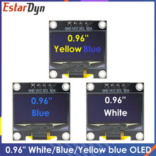 NEW 0.96 Inch IIC Serial White/Blue/Yellow OLED Display Module 128X64 I2C SSD1306 12864 LCD Screen Board for Arduino