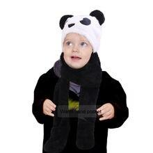 Новые детские теплые Плюшевые Пушистые зимние шапки для девочек