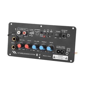 Image 5 - AIYIMA Subwoofer Digital Bluetooth Amplifier Board Dual Microphone Karaoke Amplifier Reverb 12V 24V 220V For 8 12 Inch Speaker