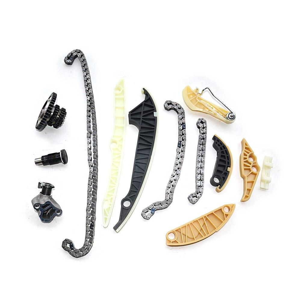 cheapest AP01 Timing Chain Kit  13 PCS For Audi A3 A4 A5 A6 Q5 TT Allroad VW Beetle EOS GTI Jetta Passat Tiguan CC Golf 1 8 2 0 TSI