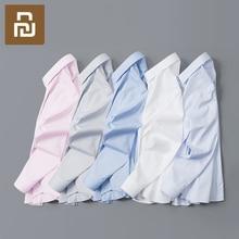 90 متعة الرجال قميص طويل الأكمام لينة 100% القطن سليم صالح عادية موضة رجل الأعمال المضادة للتجاعيد الحرة الكي قميص الملابس