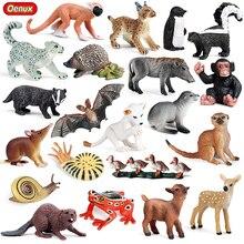Educatioal-Toys Figures Mimi Lovely Animals Model PVC Oenux Bat-Pig Mouse-Action Frog
