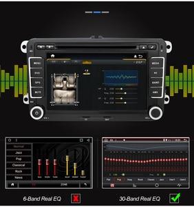 Image 4 - Eunavi 2 דין אנדרואיד DVD לרכב אוטומטי רדיו מולטימדיה עבור פולקסווגן גולף 5 פולו בורה ג טה B6 פאסאט Tiguan סקודה אוקטביה טוראן GPS DSP