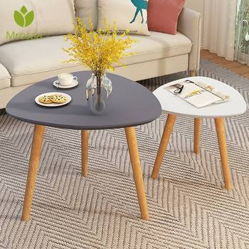 Wooden Triangle  Coffee Table  1