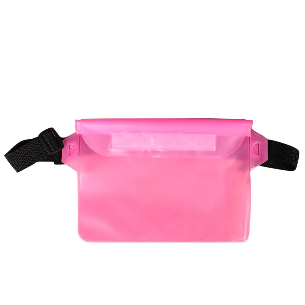 Outdoor Swimming Mobile Phone Waterproof Waist Bag Camping Skiing Holder For Cell Phone Summer Swimming Gadget