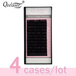4pcs All Sizes Premium 3D Volume Eyelash Extensions Lash JBCD Curl 2015 New Lash Beauty Brand