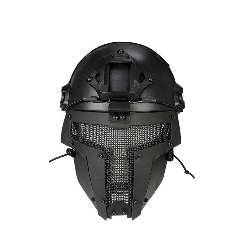 Máscara facial p/ ciclismo