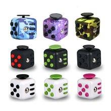 Decompression cube peneira dice anti estresse camuflagem ansiedade brinquedos brinquedos dados presentes para crianças ou adultos