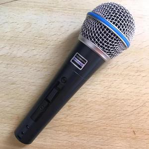 Image 1 - BT58A Interruttore Professionale Vintage Palmare Vocal Microfono Dinamico Per beta 58a beta58a Karaoke Musica Studo Della Fase Del Partito Mic