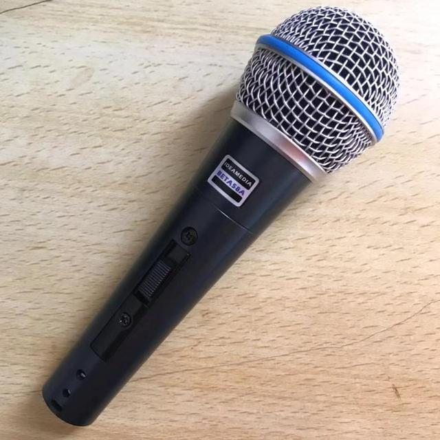 BT58A Switch Professional Vintage Handheld Vocal Dynamic Microphone For beta 58a beta58a Karaoke Music Studo Stage Party Mic