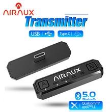BlitzWolf AIRAUX AA BT2 bluetooth 5.0 Transmitter Dual Streaming HD Audio HiFi Stereo Game Wireless Adapter APT Low Latency