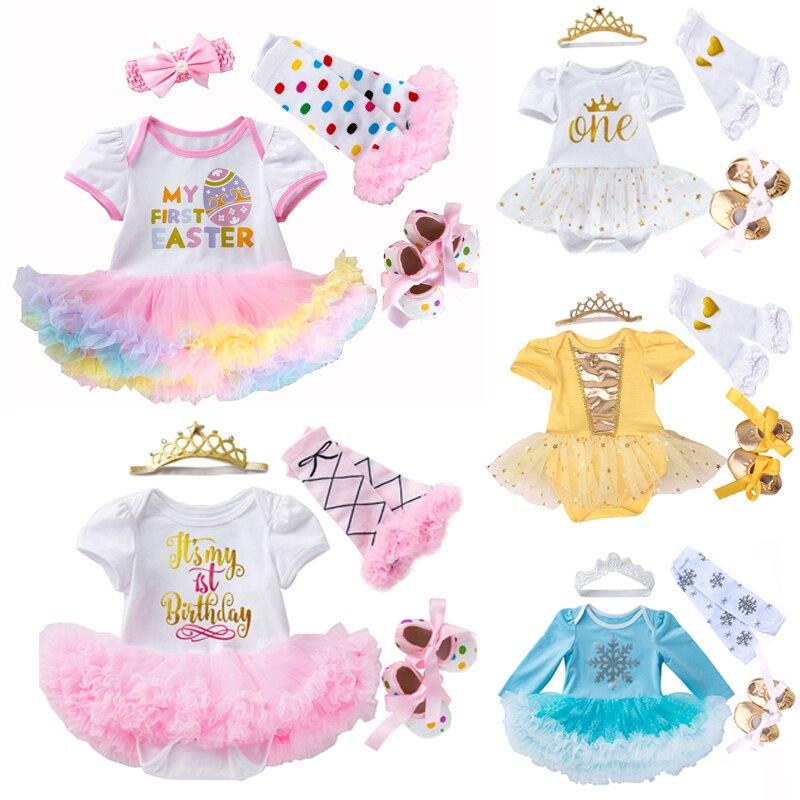 Необычные для маленьких девочек одежда платье на Пасху, Bebes кукла трансфер до костюм Мой первый день рождения карнавальный костюм, платья дл...