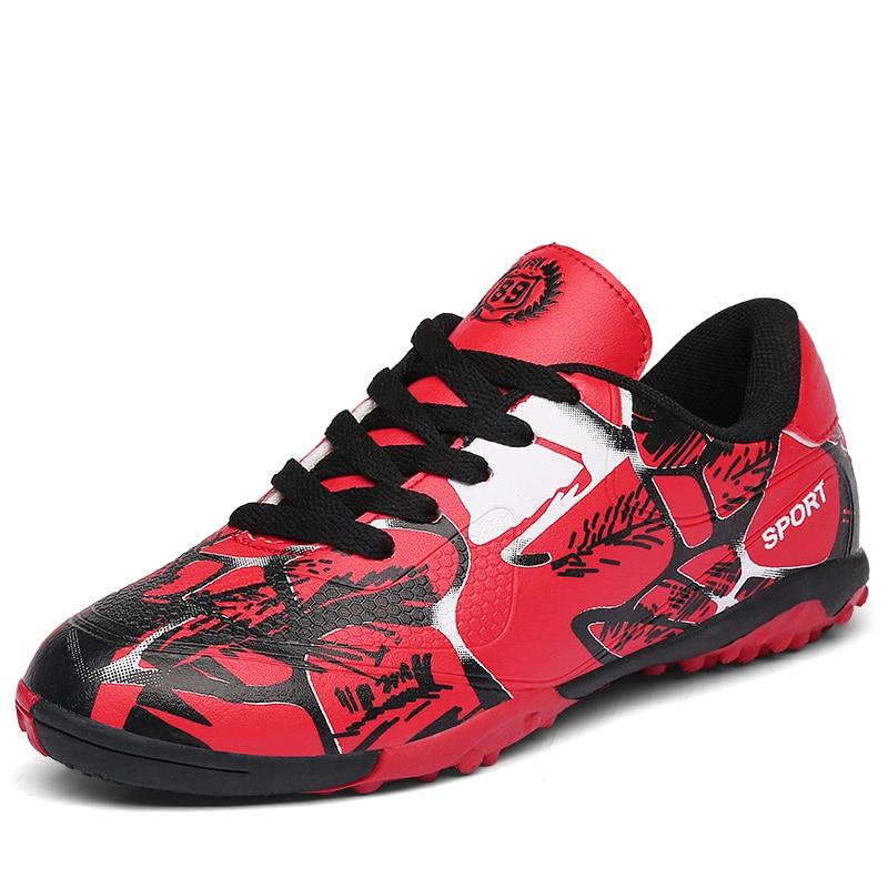 Boys AG TF Soccer Shoes Turf FG Kids Football Boots Teens Futsal Cleats Outdoor Lawn Hard