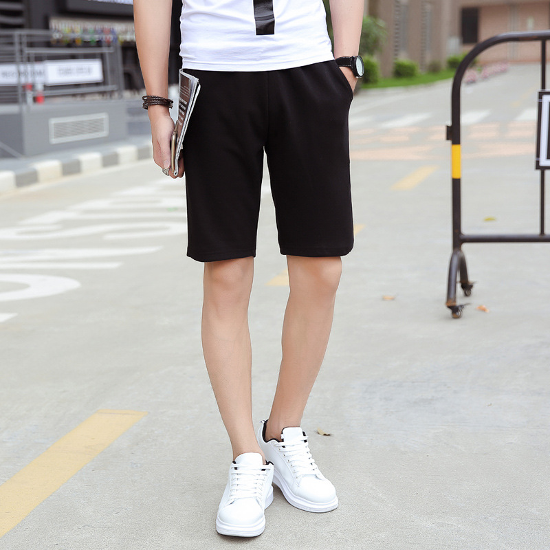 C536 Large Size Shorts Men Shorts For Men Summer Color Code Male Fitness Men's Casual Fifth Loose Summer